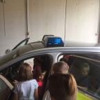 Besuch beim Polizeirevier Metzingen