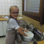 Sommerküche im Kinderkochstudio