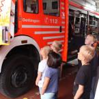 Ein Nachmittag bei der Feuerwehr