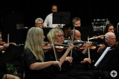 Das VHS-Orchester beim Herbstkonzert