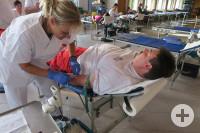 Blutspendetermin des DRK Dettingen. Foto: ak