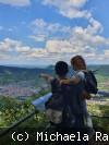 1. Platz: Ausblick auf Dettingen vom Sonnenfels