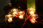 Weihnachtliche Kerzen