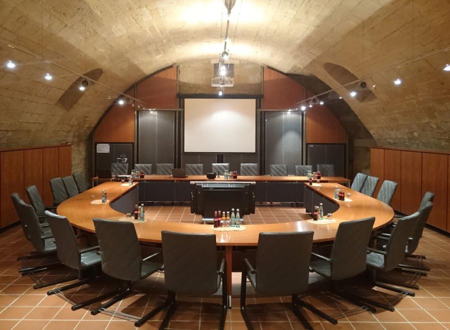 Sitzungssaal im Dettinger Rathaus
