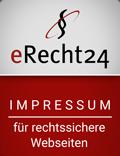 eRecht24 Siegel #impressum