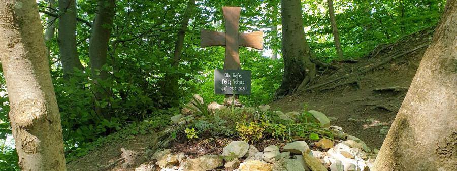 Rundwanderweg Rundum umkämpft – Soldatengrab