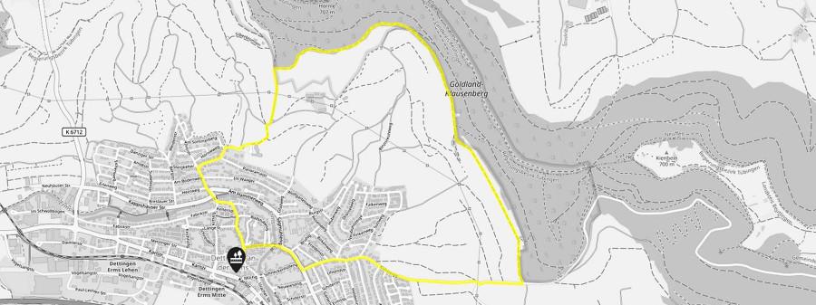 Karte Rundum paradiesisch