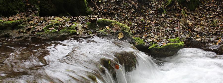 Rundum traufgängerisch Wasserverlauf