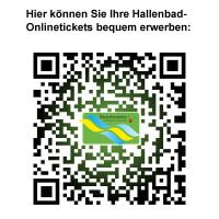 QR-Code zum Ticketverkauf Hallenbad